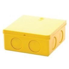 กล่องพักสาย 2 x 4 สีเหลือง