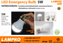 LED EMERGENCY BULB 01