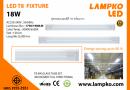 LED T8 FIXTURE 18W