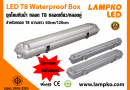 LED T8 BOX WATERPROOF